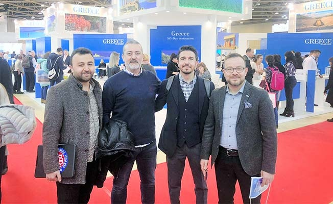 DTO heyeti MITT Moskova Turizm Fuarında