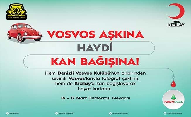 Forum Çamlık'tan Kızılay'a anlamlı destek