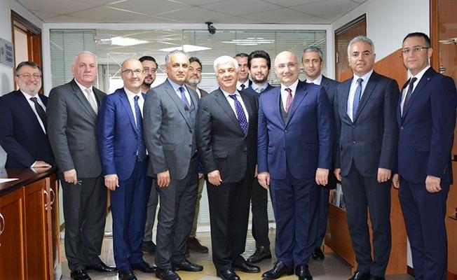 Halkbank Genel Müdürü Arslan'dan DSO'ya ziyaret