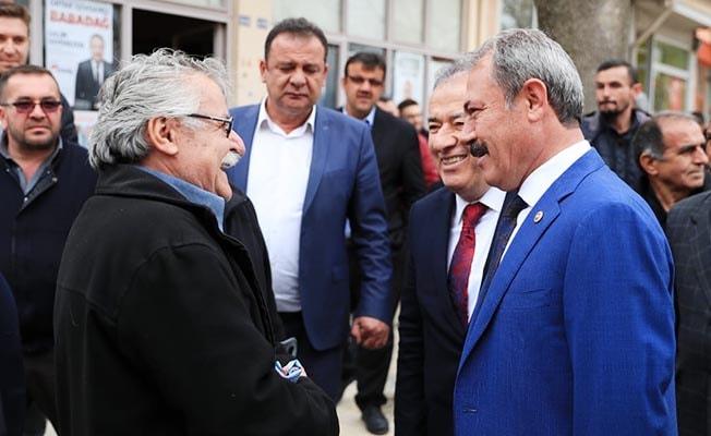 Milletvekili Şahin Tin, Babadağ'da vatandaşlarla buluştu