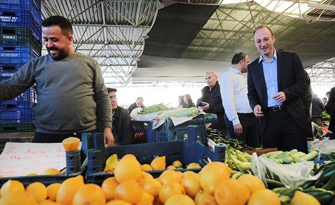 Örki'den Pamukkale'ye 15 yeni modern pazar yeri sözü