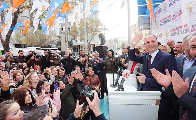 Örki'nin Seçim Koordinasyon Merkezine coşkulu açılış