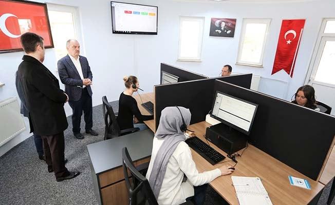 Pamukkale Belediyesi Çağrı Merkezi hizmete girdi