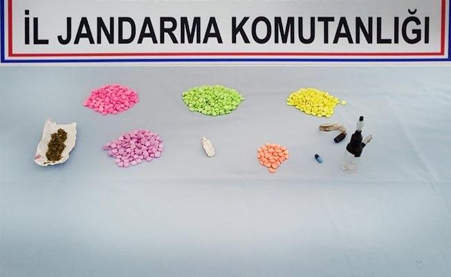 Pamukkale'de uyuşturucu operasyonu: 5 gözaltı