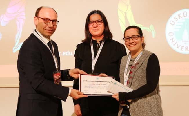 PAÜ doktora öğrencisinin tezi birincilik ödülü aldı