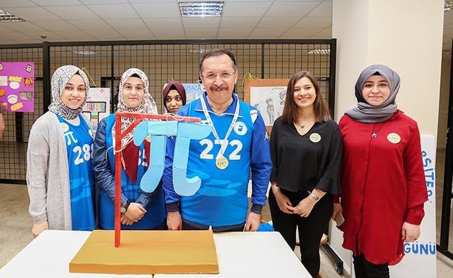 PAÜ Eğitim Fakültesi'nde Pi Günü kutlandı