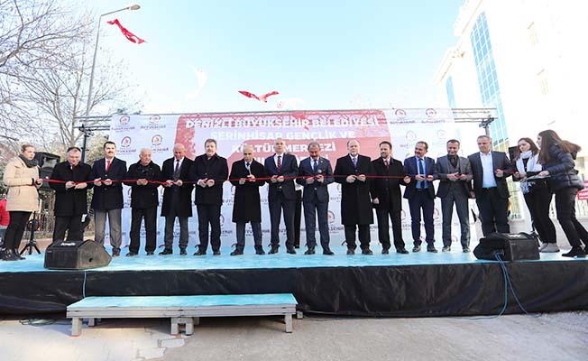 Serinhisar Gençlik ve Kültür Merkezi törenle hizmete açıldı