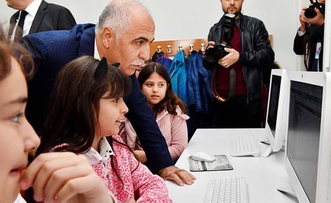 Ülker Yörükoğlu Bilim Sanat Merkezi törenle açıldı