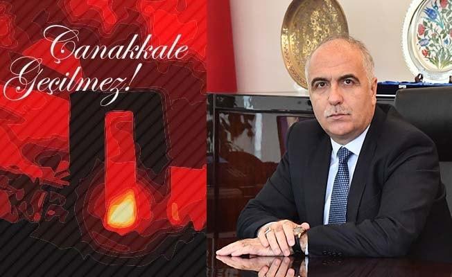 Vali Karahan'dan 18 Mart mesajı