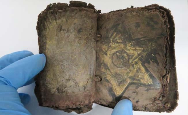 1500 yıllık saray kitabı ele geçirildi