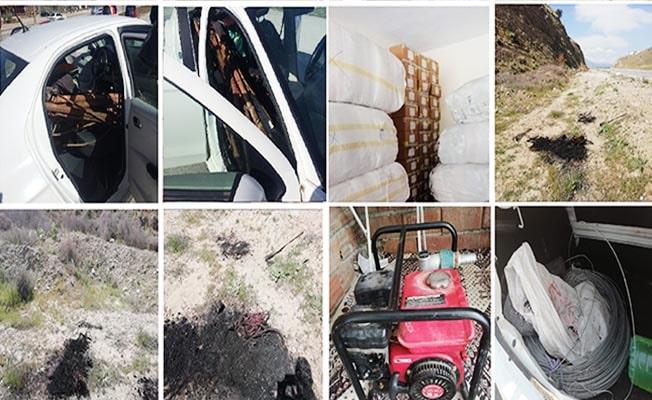15 hırsızlık olayının şüphelisi 6 kişi tutuklandı