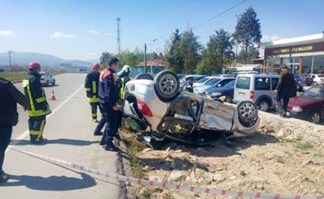 Acıpayam'da kaza: 4 yaralı