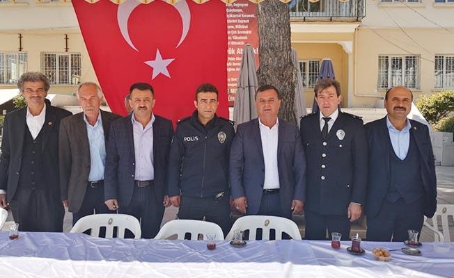 Başkan Akcan Polis Teşkilatı'nın 174. Kuruluş Yıldönümünü kutladı