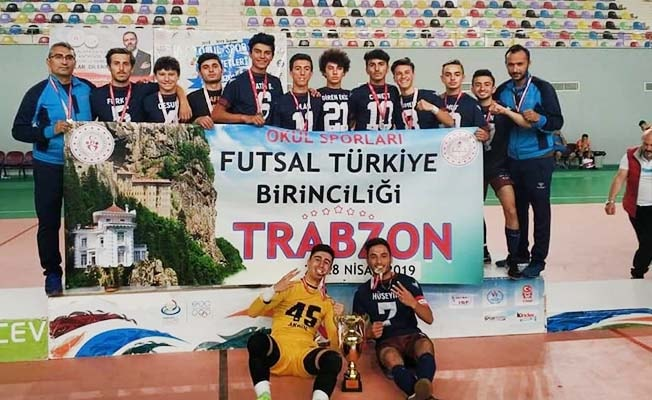 Bozkurt Spor Lisesi Türkiye Şampiyonu