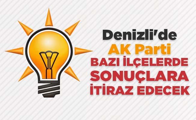 Denizli'de AK Parti'den sonuçlara itiraz