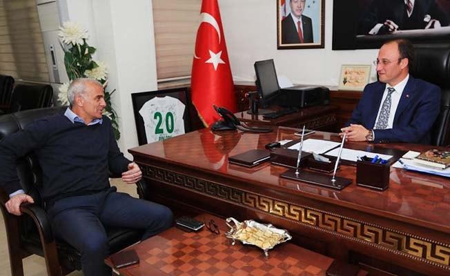İmparator'dan Başkan Örki'ye tam destek
