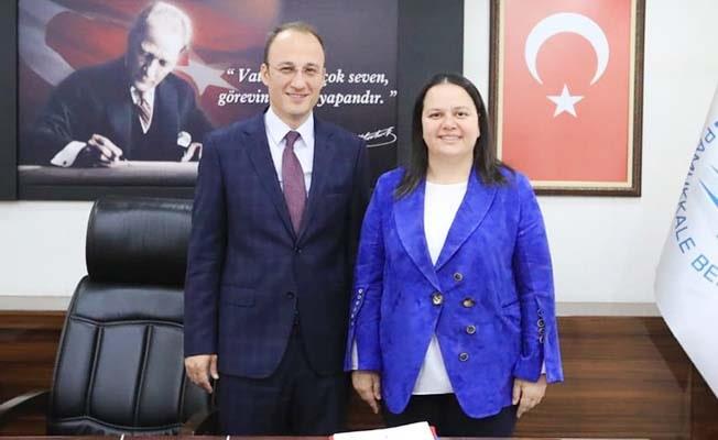 Milletvekili Ök'ten Örki'ye hayırlı olsun ziyareti