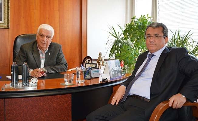 Milletvekili Yıldız DSO'yu ziyaret etti