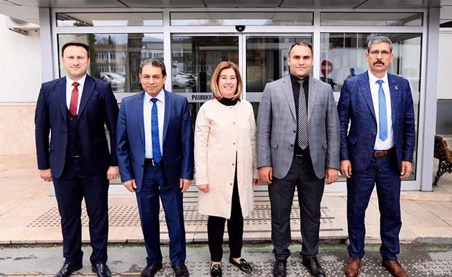 Pamukkale Belediyesi'nde başkan yardımcıları belli oldu