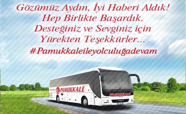 Pamukkale Turizm'den basın açıklaması