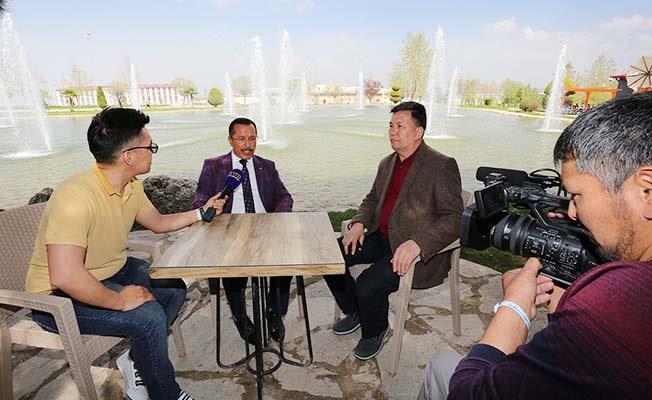 PAÜ, Kırgızistan heyetine Sağlık Turizmi alanındaki yeni çalışmalarını tanıttı