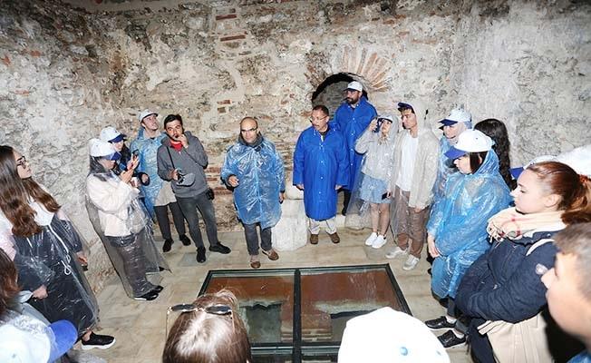 PAÜ'lü Uluslararası Öğrenciler, Stratonikeia Antik Kenti ve Marmaris'i gezdi