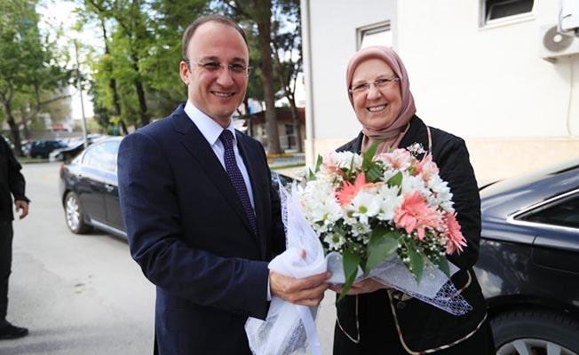 Ramazanoğlu'ndan Örki'ye hayırlı olsun ziyareti