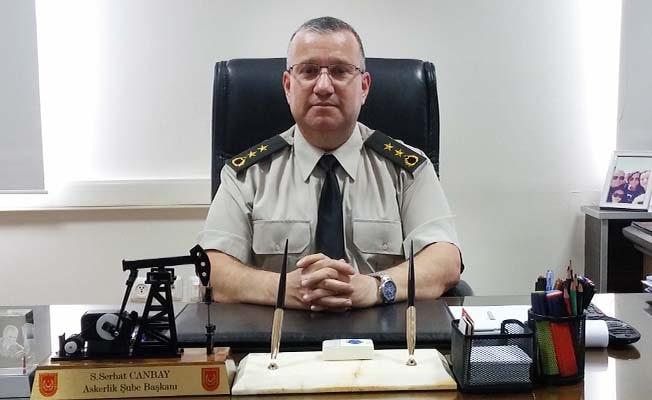 Askerlik Şube Başkanı Yarbay Canbay göreve başladı