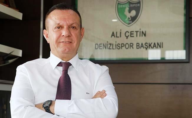 """Başkan Çetin: """"Türk futbolu için üzücü bir karşılaşma izledik"""""""