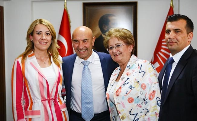 Başkan Soyer, Kepenek'e destek için Denizli'de