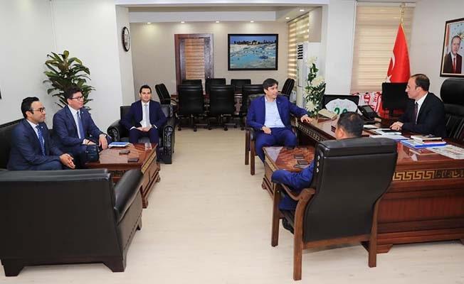BEM-BİR-SEN'den Başkan Örki'ye hayırlı olsun ziyareti