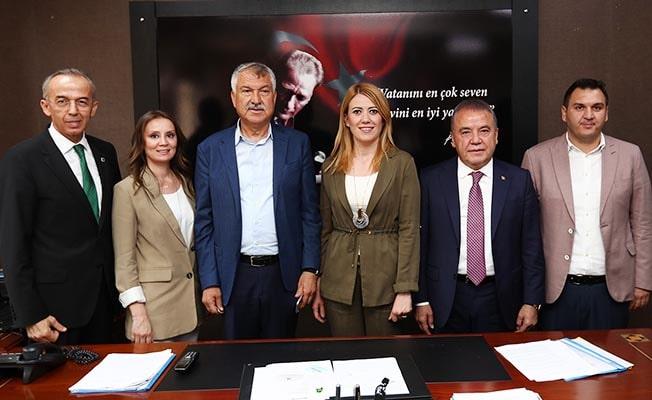 Büyükşehir Başkanlarından Doğan'a ziyaret
