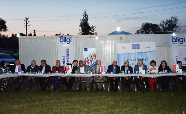DSO AB Bilgi Merkezi, depremzedelerle iftarda buluştu