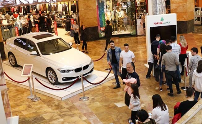 Forum Çamlık'ın BMW kampanyası devam ediyor