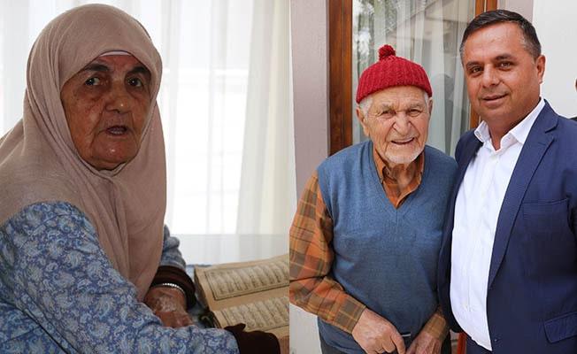 İsimlerinin verildiği huzurevinde kalan yaşlı çifte duygulandıran ziyaret