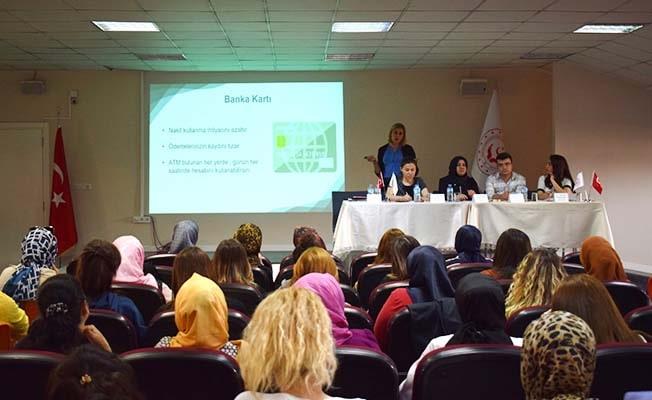 Kadın girilşimcilere Finansal Okuryazarlık semineri