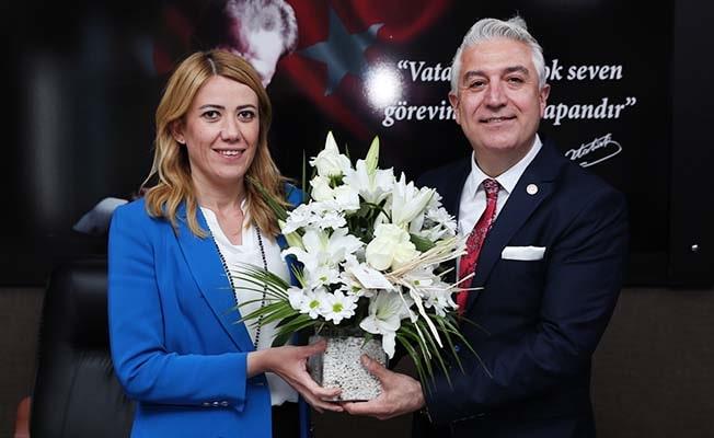 Milletvekili Sancar, Başkan Doğan'ı ziyaret etti