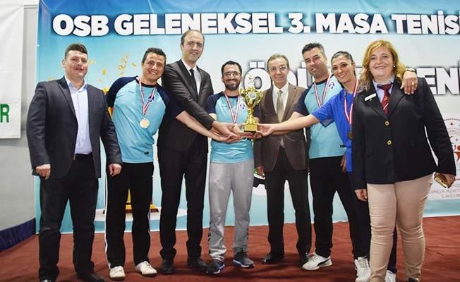 OSB'nin geleneksel turnuvasında şampiyon PAÜ Hastanesi