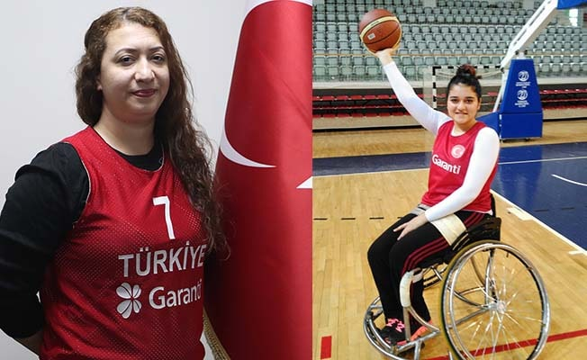Pamukkale Belediyespor'un 2 sporcusu milli görevde