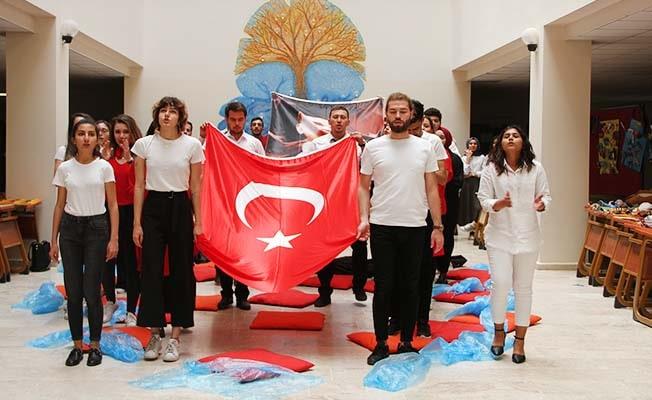 PAÜ'de 19 Mayıs Atatürk'ü Anma Gençlik ve Spor Bayramıcoşkuyla kutlandı