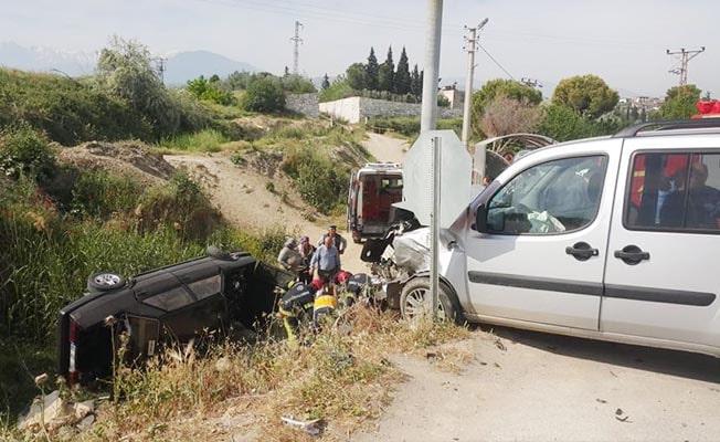 Sarayköy'de kaza: 6 yaralı