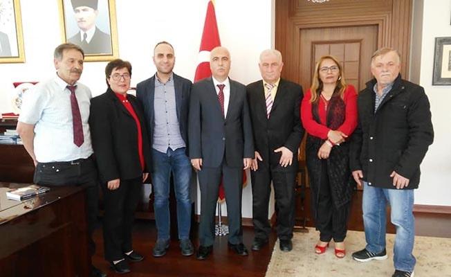 Yarender Vali Karahan'ı ziyaret etti