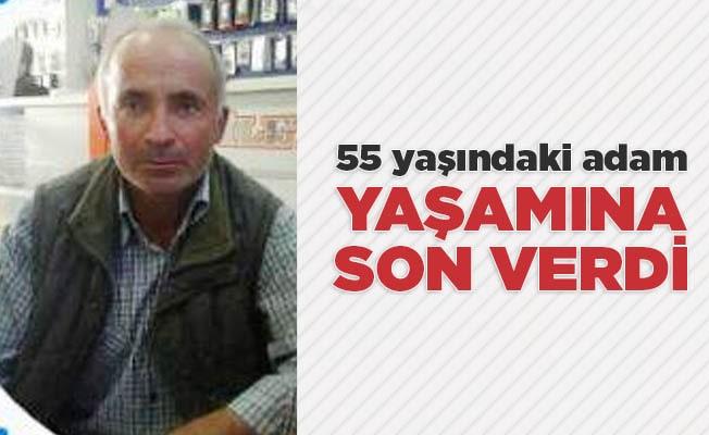 55 yaşındaki adam yaşamına son verdi
