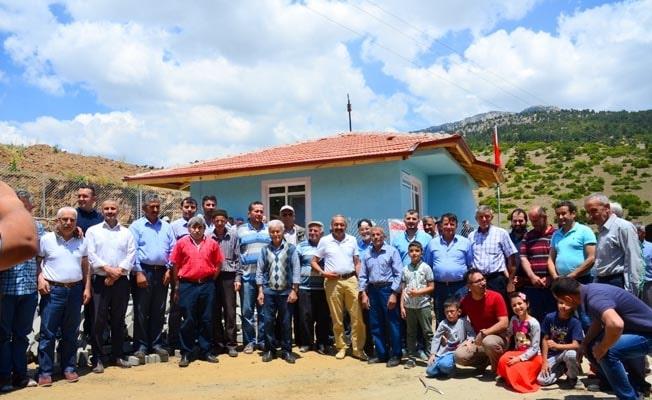 Acıpayam'ın en yüksek rakımlı camisi hizmete açıldı