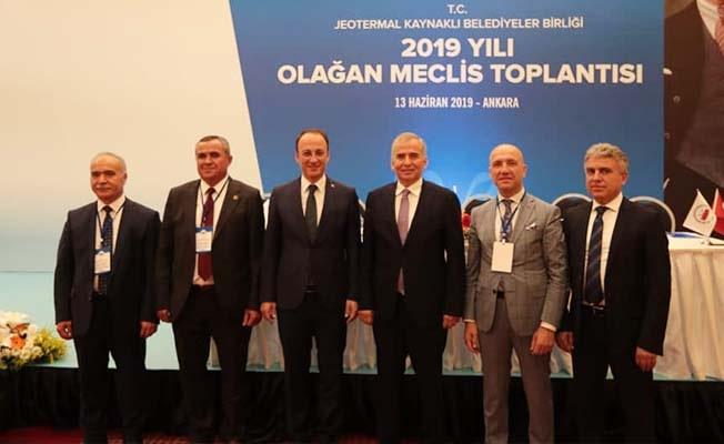 Başkan Örki'den Başkan Zolan'a kutlama
