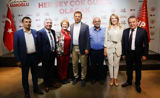 CHP Denizli, İmamoğluna desek için İstanbul'da