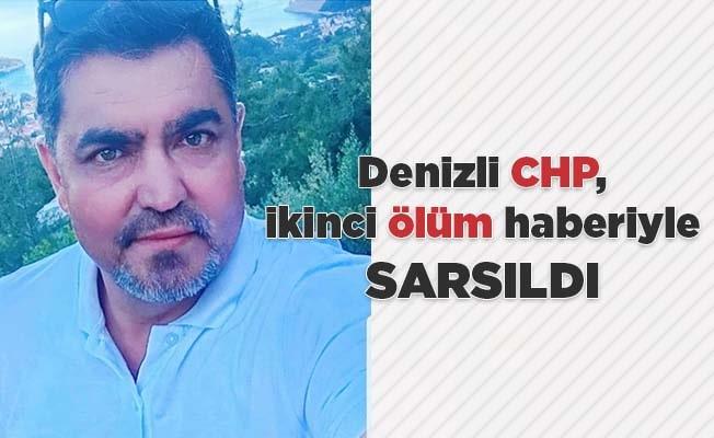 Denizli CHP, ikinci ölüm haberiyle sarsıldı