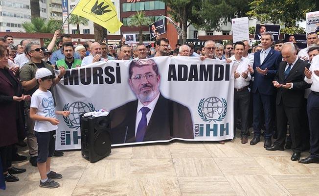 Denizli'de Mursi için gıyabi cenaze namazı