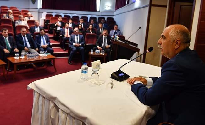 İl İdare Şube Başkanları ve Kaymakamlar Toplantısı gerçekleştirildi