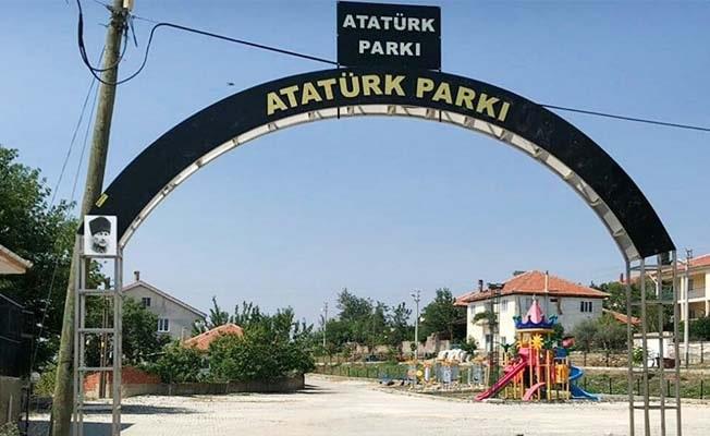 Meclis kararı uygulandı, parkın levhası değişti